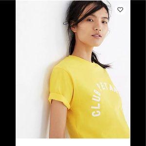 Madewell club pétanque t-shirt XL NWT